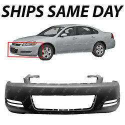NEW Primered Front Bumper Cover Replacement for 2006 2013 Chevrolet Impala