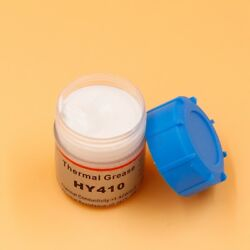 White 20g Silicone Compound Thermal Grease Paste For CPU GPU LED SCR VGA Cooling $8.56