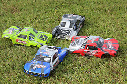 4pcs 4x Color Traxxas Truck Car Body 1/10 Slash 4x4 VXL Slayer Shell Cover 6811 $92.95