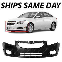 NEW Primered Front Bumper Cover Fascia for 2011 2014 Chevy Chevrolet Cruze
