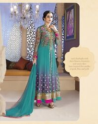 Party Indian Dress Suit Designer Salwar Kameez Anarkali Bollywood