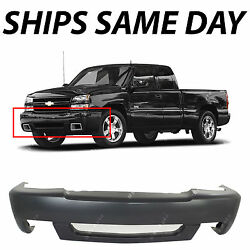 New Primered - Front Bumper Cover For 2003-2007 Chevy Silverado 1500 SS 03-07 $116.05