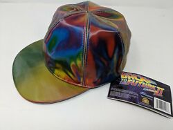 *New* Marty McFly Licensed Color Changing Hat Cap Back to the Future Prop $29.99