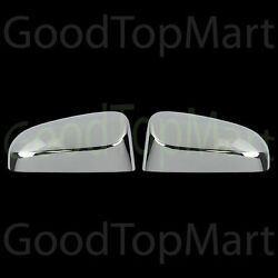 For Toyota Corolla 2014 2015 Chrome Top Mirror Covers W out Turn Light Cutout $25.99