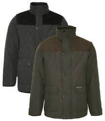 Champion Lewis Quilted Jacket - Fleece Lined Warm Country Classic