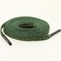 $6 Starks Laces x HUF - Quake Green Shoelaces shoestrings 0038-45Inch-1S