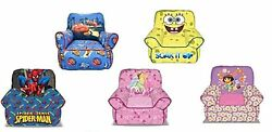 Disney and Nickelodeon Kids and Toddlers Bean Sofa Chair $39.02