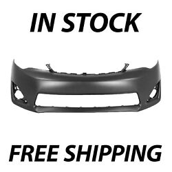 Primered Front Bumper Cover Fascia for 2012 2014 Toyota Camry XLE L E 12 14 $87.38