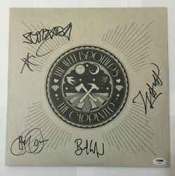 The Avett Brothers Signed The Carpenter Album Vinyl PSADNA Letter #AB00875
