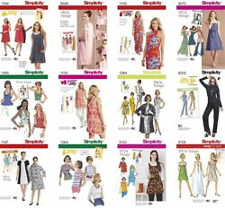 Simplicity Sewing Pattern Misses#x27; Retro 1960s 1970s Aprons Cover ups Coats Tops $11.95