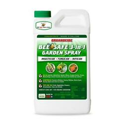 Organocide 3 in 1 Bee Safe Garden Spray 32 oz Concentrate Insecticide Organic $20.95