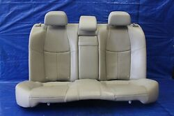 2016 INFINITI Q70S OEM FACTORY TAN LEATHER REAT SEATS ASSEMBLY 5.6 01514