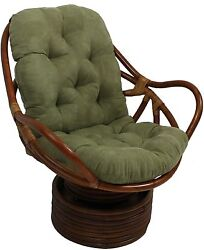 Rocker Cushion Rocking Chair Pad Indoor Chaise Lounge Seat Outdoor Swivel Garden