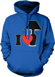 I Love Lamp Heart lt;3 Light You Quote Silly Crazy Like Funny U Hoodie Sweatshirt $38.69