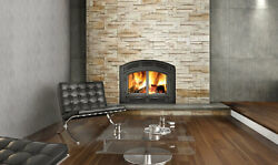 Napoleon NZ3000-1 High Country™ 3000 Wood Burning Fireplace Painted black