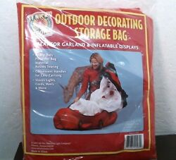 Christmas Light Co. 11560 Outdoor Decorating Storage Bag Red FREE SHIPPING