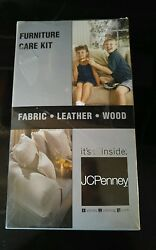 Stainsafe Furniture Care Kit Leather Wood Fabric JCPenney Msrp $55