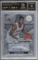 2012 Totally Certified Roll Call AUTO #73 Jimmy BUTLER BGS 10 RC BLACK Label