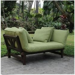 Convertible Sofa Bed Sleeper Outdoor Patio Furniture Daybed Cushions Couch Chair