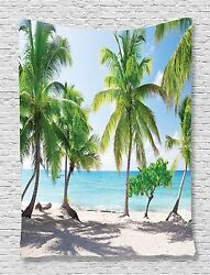 Catalina Island Palms Tapestry Wall Hanging for Living Room Bedroom Dorm Decor $24.99