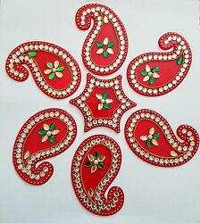 Colorful Wall Art Floor Art also known as Rangoli $20.00