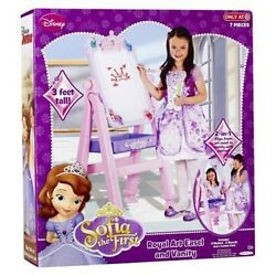 Disney Sofia the First Deluxe 2 in 1 Royal Easel and Vanity Mirror Brand New