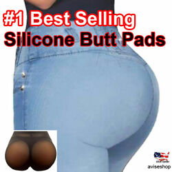 BIG Silicone Butt Pads buttock Enhancer body Shaper Brief  Panty Tummy Control $25.64