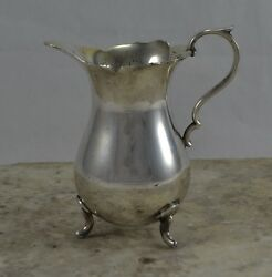 ANTIQUE EDWARDIAN BRITANNIA METAL EPBM GEORGIAN DESIGN baluster CREAM JUG