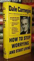 How to Stop Worrying and Start Living Hardcover by Dale Carnegie FREE SHIPPING $8.40