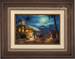 Thomas Kinkade The Nativity 12 x 18 Limited Edition EE Canvas Framed