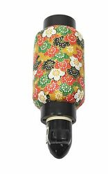 Oriental Style Night Light Japanese Washi Paper Plug in Lamp Candle Home Decor. $16.99