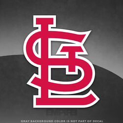 St. Louis Cardinals Logo Vinyl Decal Sticker MLB 4quot; and Larger Sizes Glossy $5.99