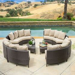 Best Patio Furniture Outdoor Table And Chairs Backyard Conversation Set Cushions