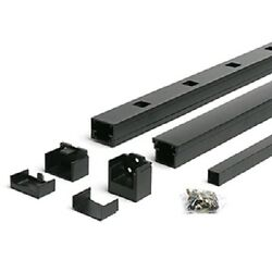 Trex Reveal 6-ft x 36-in Stair Rail Kit Charcoal Black BKAS0636SRK