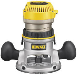 DEWALT 2-14 HP EVS Fixed Base Router DW618 New