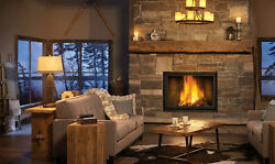NEW HIGH COUNTRY 8000 - NAPOLEON NZ8000 WOOD FIREPLACE EPA APPROVED