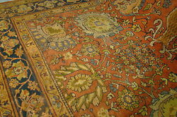 Beautiful 19th Century All-Over Design Sultanabad Room Size 9' x 12' Rug Mint