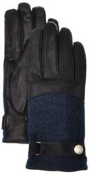 Stefano Ricci Gloves Handmade Leather Cashmere Lined Size 9 Blue 13GL0109 $745
