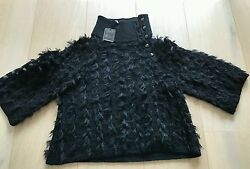 Authentic rare Chanel Turtle neck 34 new with tag skirt dress pants sweater
