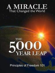 THE 5000 YEAR LEAP by W Cleon Skousen paperback book FREE SHIPPING five thousand