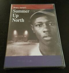 Henry Aaron#x27;s Summer Up North DVD hank baseball history documentary RARE NEW $49.99