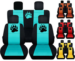 CC Front+Back bear claw car seat covers fits wrangler 2dr or 4dr  2007-2018 $169.99