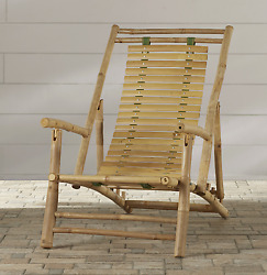 Outdoor Patio Beach Chair Lounge Furniture Recliner 4 Sitting Position Design