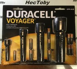 LED FLASHLIGHT DURACELL VOYAGER STELLA 4 PACK BATTERIES INCLUDED $22.25