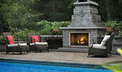 NAPOLEON GSS42CFN RIVERSIDE SERIES OUTDOOR GAS FIREPLACE - STAINLESS STEEL
