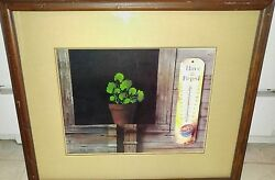 Roger Hardee Signed Frame Matte Have a Pepsi 17 14 x 14 34  #13274 She Shed