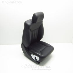 seat front Right Mercedes M-CLASS W164 ML 07.05- leather black