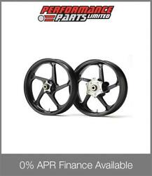 Black Galespeed Magnesium Type GP1SM Wheels Honda CBR600RR 2007-13 ABS 0% Avail