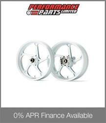 White Galespeed Magnesium Type GP1SM Wheels Honda CBR600RR 2007-13 ABS 0% Avail