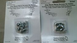 Amerimax 85364 White Sheet Metal Screws Gutter 38